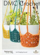 Crochet Pattern for Plant Hangers | DMC Natura XL (15602L/2)