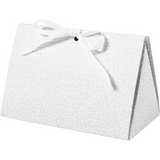Vivi Gade | Folding Gift Box | Grey with White Dots