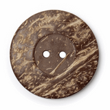 Coconut Buttons   50mm   Brown (BF\8570)