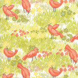 Dandi Annie | Robin Pickens | Moda Fabrics | 48631-11 | Little Birds - Cloud