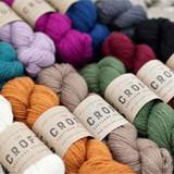 WYS The Croft Shetland Aran Solid Colours Knitting Yarn 100g Hanks | Various Shades - Main Image
