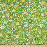 Kaffe Fassett fabrics   Roman Glass   Leafy  Freespirit Fabrics (QGP0100-0Leafy) - Main Image