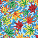 Blue Maple Stream | Spring 2016 Collection | Kaffe Fassett Fabrics