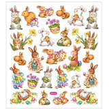 Easter Stickers | Bunnies | CC Crafts