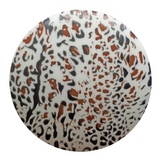 Dill Buttons | Animal Print Buttons | 28 mm