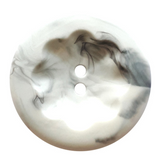 Marbled Grey Buttons   Dill Buttons   25 mm