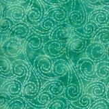 Calypso Batiks | Kate Spain | Moda Fabrics | 27258-38 | Aqua Swirls | 2.2m Remnant