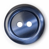 Blue Silk look Plastic Buttons | 20mm | ABC Loose Buttons