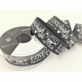 Berisfords | Happily Ever After Ribbon | 25mm | Half Metre Lengths