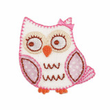 Pink Owl Mofit | The Craft Factory | Main Image