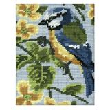 Blue Tit | Anchor Tapestry Starter Kit | 18cm x 14cm | Anchor
