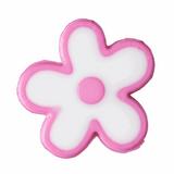 Flowers Buttons | Dark Pink | 15 mm
