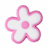 Flowers Buttons | 15 mm | Dark Pink | Trimits Loose Buttons