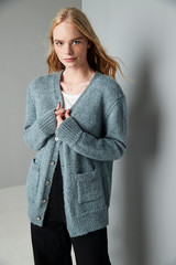 Hampstead Heath, Oversized Cardigan Knitting Pattern   Erika Knight Wild Wool