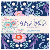Tilda | The Bird Pond Collection | Charm Packs | Various Sets | 40 Piece - Main image