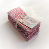 Tilda Collection | Bird Pond Fat Quarter Bundle | Raspberry & Marron - Store Photo