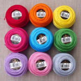 DMC No. 8 Pearl Cotton 10g Balls | Various Colours - Main