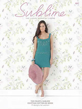 Sublime Knitting Pattern Book - The Fourth Egyptian Cotton Pattern Book