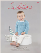 Sublime Knitting Pattern Book 710 - Main