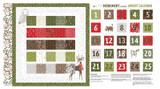 Merriment | Gingiber | Moda Fabrics | 48272-11 | Advent Calender Panel