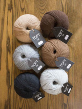 Toft DK 100% Wool, 25g Balls | Various Shades | Toft Wool - Main
