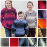 Wendy Stella Chunky Knitting Yarn, 100g Balls   Various Shades - Main