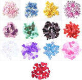 Trimits | Mini Heart Shaped Buttons | Mixed Sizes & Shades | 2.5g bags - Main