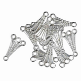 Trmits 1-3 Deluxe Fancy 3 Strand Connectors, Silver Plated | Packs of 12