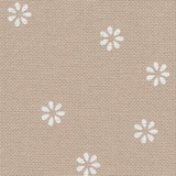Murano Lugana Fleur Evenweave | 32ct | Zweigart | Colour 7399 Beige Flower