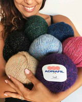 Adriafil LED Knitting Yarn in 50g Balls | Various Shades - Main