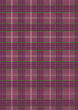 Celtic Coorie | Lewis and Irene | A416.2| Purple Check