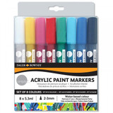Simply Acrylic Paint Markers - Set of 8 Colours | Daler Rowney (126 300 904)