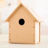 Bird House | Flat Packed MDF | Craft Consortium