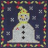 DMC   Cross Stitch Kit   Christmas Mini Kit   Jolly Snowman