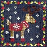 DMC   Cross Stitch Kit   Christmas Mini Kit   Reindeer