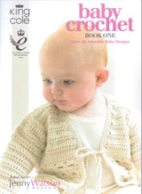 Baby Crochet Book One by Jenny Watson | King Cole