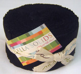 Bella Solids | Moda Fabrics | Jelly Roll | Black