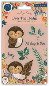 Craft Consortium | Over the Hedge | Olivia the Owl Stamp Set