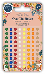Craft Consortium | Over the Hedge | Adhesive Enamel Dots