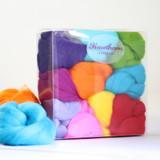 Hawthorn Handmade | Merino Felting Wool Bundle | Brights