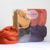 Hawthorn Handmade   Merino Felting Wool Bundle   Autumn