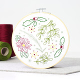 Hawthorn Handmade | Contemporary Embroidery Kit | Winter Walk