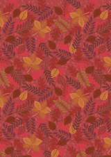 Under the Oak Tree | Lewis and Irene | A396.2 | Leaves on Rusty Red
