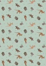 Small Things... World Animals | Lewis and Irene | SM23.2 | Australian Animals on Soft Eucalyptus