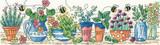 Heritage Crafts | Cross Stitch Kit | The Karen Carter Collection | Herb Garden