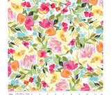 Sweet Melody | Riley Blake | EQS Fabrics | RBC8400-White