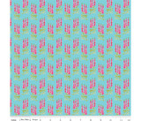 Sweet Melody | Riley Blake | EQS Fabrics | RBC8403-Light Blue