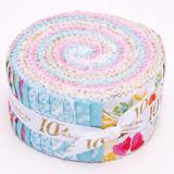 "Sweet Melody | Riley Blake | EQS Fabrics | 2.5"" Rolie Polie"