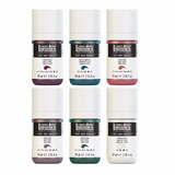 Liquitex Soft Body Acrylic set of 6 - Muted Collection