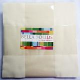 Bella Solids | Moda Fabrics | Snow | Layer Cake